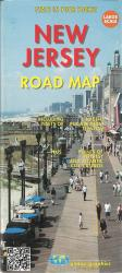 New Jersey Road Map by Global Graphics