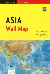 Asia Wall Map by Periplus Editions