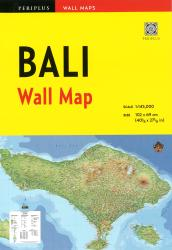 Bali Wall Map by Periplus Editions