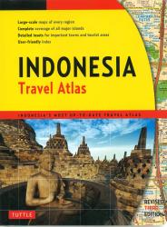 Indonesia, Travel Atlas by Periplus Editions