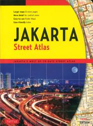 Jakarta, Indonesia, Street Directory by Periplus Editions