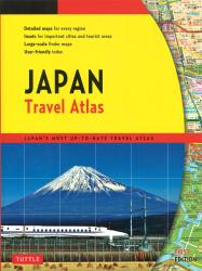 Japan Travel Atlas by Periplus Editions, Tuttle