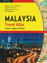 Malaysia Travel Atlas by Periplus Editions, Tuttle