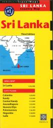 Sri Lanka Country Map by Periplus Editions