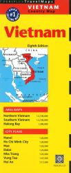 Vietnam Country Map by Periplus Editions