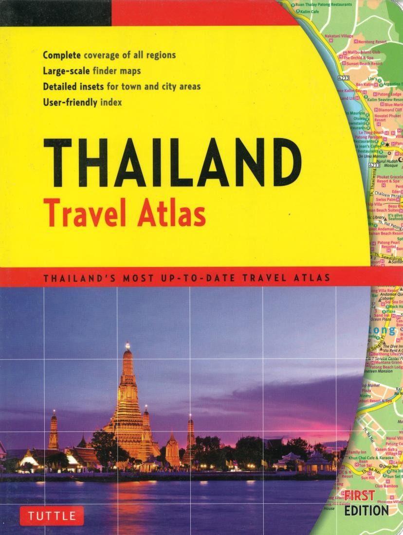 Thailand Travel Atlas by Tuttle