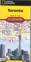 Toronto, Ontario City Destination : Map and Travel Guide by National Geographic Maps