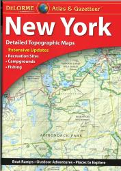 New York Atlas and Gazetteer by DeLorme
