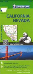 California and Nevada (174) by Michelin Maps and Guides