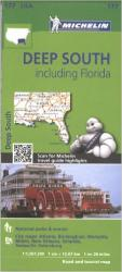 United States, Deep South including Florida (177) by Michelin Maps and Guides