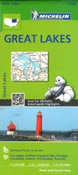 Great Lakes (173) by Michelin Maps and Guides