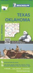 Texas and Oklahoma (176) by Michelin Maps and Guides