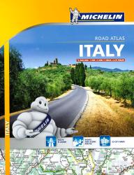 Italy Road Atlas : Spiral Bound (1465) by Michelin Maps and Guides