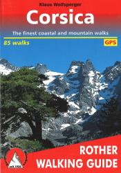 Corsica, Walking Guide by Rother Walking Guide