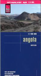 Angola Country Map by Reise Know-How Verlag