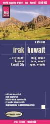 Iraq and Kuwait + city maps of Baghdad and Kuwait City by Reise Know-How Verlag