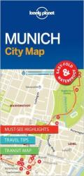 Munich, Germany City Map by Lonely Planet Publications