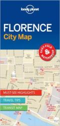 Florence, Italy City Map by Lonely Planet Publications