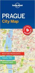 Prague, Czech Republic City Map by Lonely Planet Publications