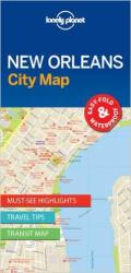 New Orleans, Louisiana City Map by Lonely Planet Publications