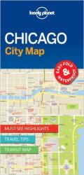 Chicago, Illinois City Map by Lonely Planet Publications