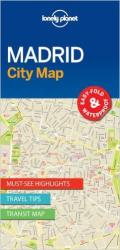 Madrid, Spain City Map by Lonely Planet Publications