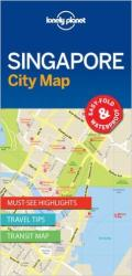 Singapore, City Map by Lonely Planet Publications
