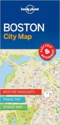 Boston, Massachusetts City Map by Lonely Planet Publications