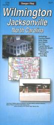 Wilmington and Jacksonville, North Carolina by The Seeger Map Company Inc.