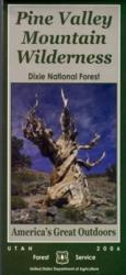 Dixie National Forest - Pine Valley Wilderness Map by United States Forest Service
