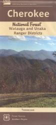 Cherokee National Forest (North) - Watauga and Unaka Ranger Districts Map by United States Forest Service