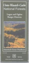 Uinta-Wasatch-Cache National Forest - Ogden and Logan Ranger Districts Map by United States Forest Service