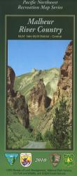 Malheur River Country Map by United States Forest Service