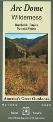 Arc Dome Wilderness - Humboldt-Toiyabe National Forests Map by United States Forest Service