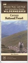 Carson National Forest - Wheeler Peak, Latir Peak, and Columbine-Hondo WildernessesMap by United States Forest Service