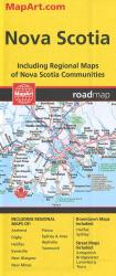 Nova Scotia Road Map by