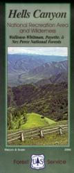 Hells Canyon National Recreation Area and Wilderness - Wallowa-Whitman, Payette, & Nez Perce National Forests by United States Forest Service