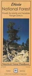 Dixie National Forest - Powell, Escalante and Teasdale Map by United States Forest Service