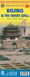 Beijing and the Great Wall Travel Map by International Travel Maps