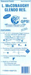 Lake McConaughy Lake, Glendo Reservoir, Nebraska fishing map by Fish-n-Map Company