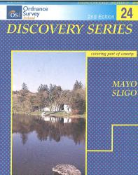 Mayo, Sligo, Ireland Discovery Series #24 by Ordnance Survey of Ireland
