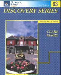 Clare, Kerry, Ireland Discovery Series #63 by Ordnance Survey of Ireland