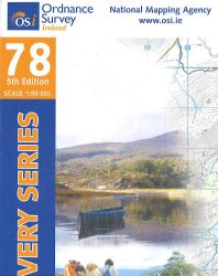 Kerry, Ireland Discovery Series #78 by Ordnance Survey (Ireland)