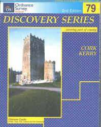 Cork, Kerry, Ireland Discovery Series #79 by Ordnance Survey of Ireland
