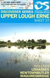 Upper Lough Erne, Northern Ireland Discovery Series #27 by Ordnance Survey of Northern Ireland