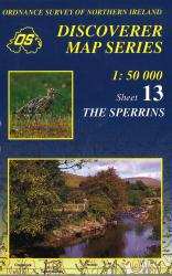 The Sperrins, Northern Ireland Discovery Series #13 by Ordnance Survey of Northern Ireland