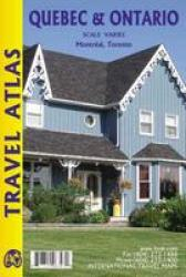 Quebec & Ontario Pocket Travel Atlas by International Travel Maps