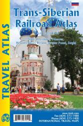 Trans-Siberian Railroad Atlas by ITMB Publishing Ltd