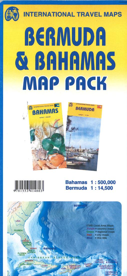 Bermuda & Bahamas Map Pack by on