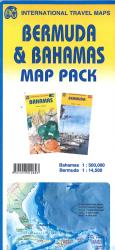 Bermuda & Bahamas Map Pack by International Travel Maps